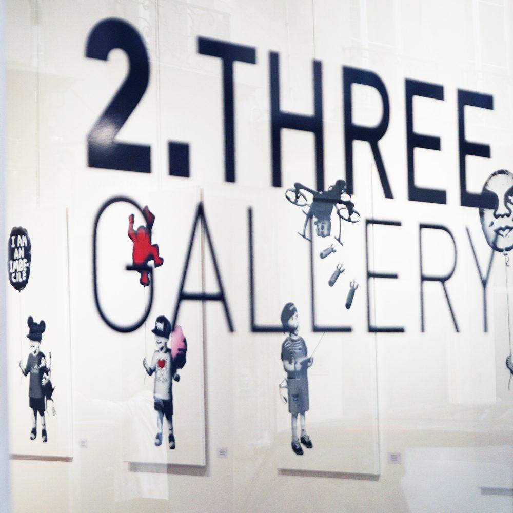 Thirsty Bstrd Exhibition Street Art Stencil Paris 2.Three Gallery